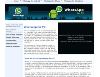 whatsapp-pc.net screenshot