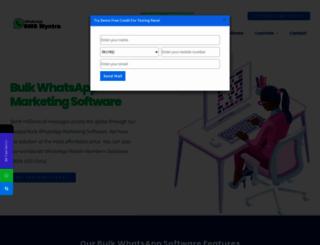 whatsapp.smsmyntra.com screenshot