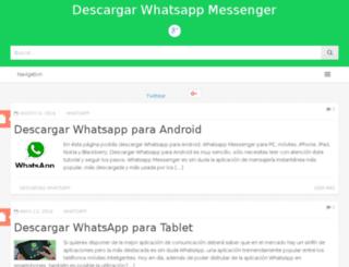 whatsappdescargar.info screenshot