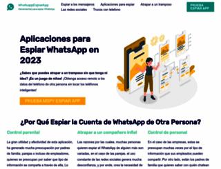 whatsappespiarapp.com screenshot