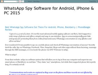 whatsappspyx.blogspot.in screenshot