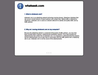 whatseek.com screenshot