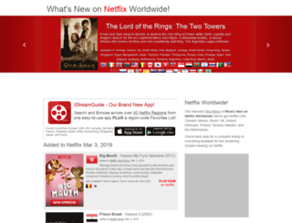 whatsnewonnetflix.tv screenshot