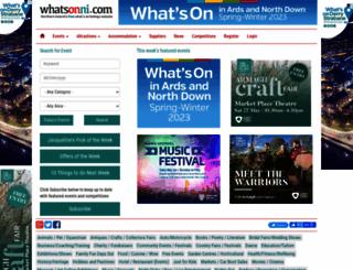 whatsonni.com screenshot
