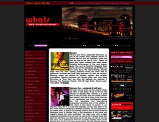 whatsonwestonsupermare.co.uk screenshot