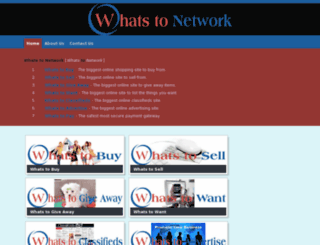 whatstonetwork.com screenshot
