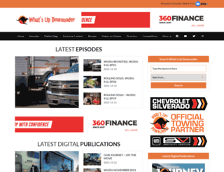 whatsupdownunder.com.au screenshot