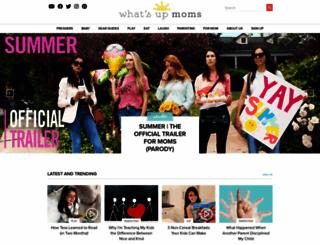 whatsupmoms.com screenshot