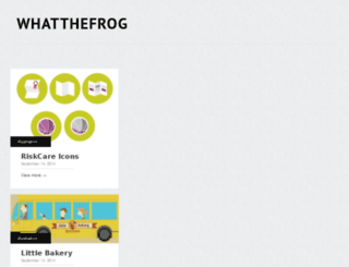 whatthefrog.com screenshot