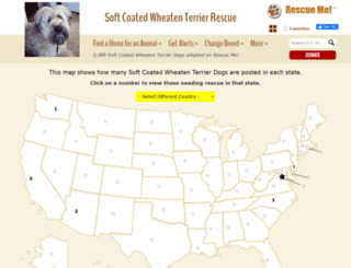 wheatenterrier.rescueme.org screenshot