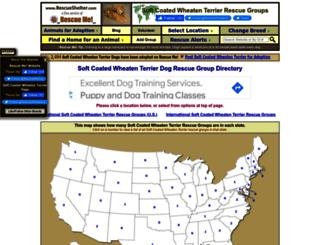 wheatenterrier.rescueshelter.com screenshot