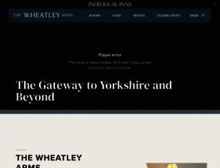 wheatleyarms.co.uk screenshot