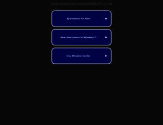 wheatoncenterapartments.com screenshot