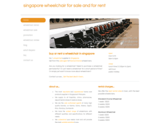 wheelchair.sg screenshot