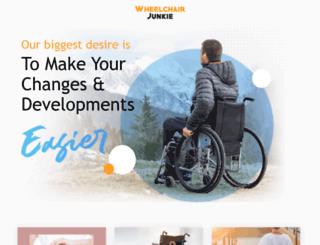 wheelchairjunkie.com screenshot