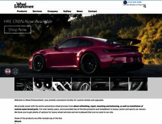 wheelenhancement.com screenshot