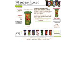 wheelie-bin-art.co.uk screenshot
