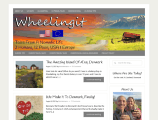 wheelingit.wordpress.com screenshot