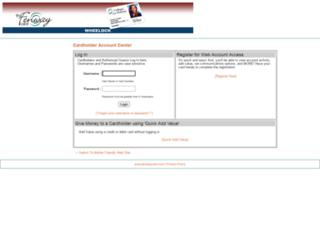 wheelock.campuscardcenter.com screenshot