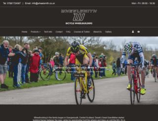 wheelsmith.co.uk screenshot