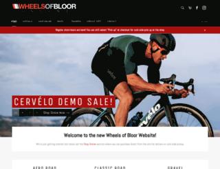 wheelsofbloor.com screenshot