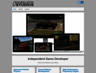 wheelspinstudios.com screenshot