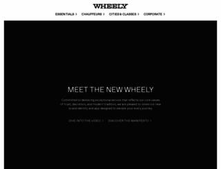 wheely.com screenshot