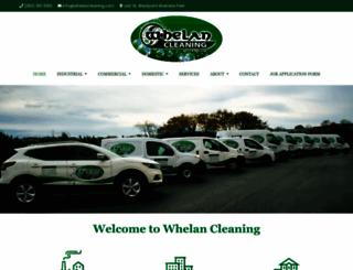 whelancleaning.com screenshot