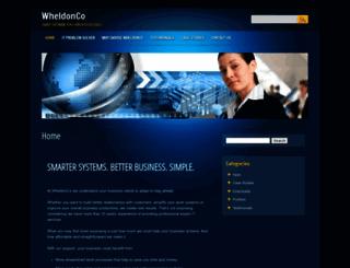 wheldoncomputing.co.uk screenshot