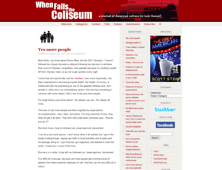 whenfallsthecoliseum.com screenshot