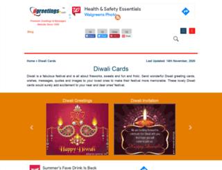 whenisdiwali.com screenshot
