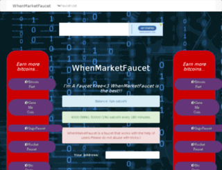 whenmarketplace.com screenshot