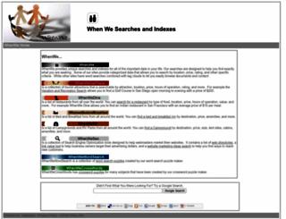 whenwe.com screenshot