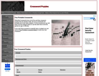 whenwecrosswords.com screenshot