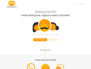 whenwemarry.com screenshot