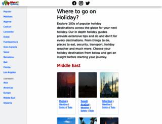 where2holiday.com screenshot
