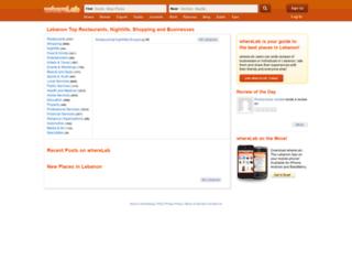 whereleb.com screenshot