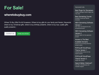 wheretobuybuy.com screenshot