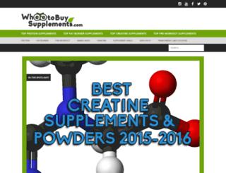 wheretobuysupplements.com screenshot