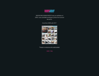 wherewedowhatwedo.com screenshot