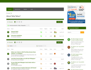 wherewhywhen.com screenshot