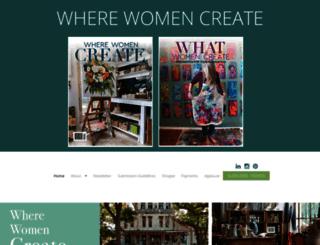 wherewomencreatebusiness.com screenshot