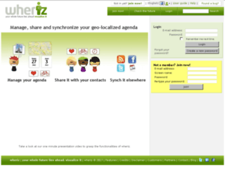 wheriz.es screenshot