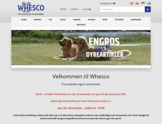 whesco.dk screenshot