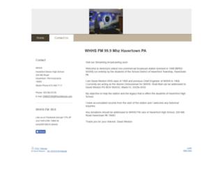 whhs.org screenshot