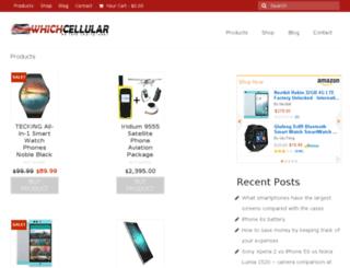 whichcellular.com screenshot