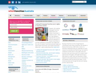 whichfranchise.net.au screenshot