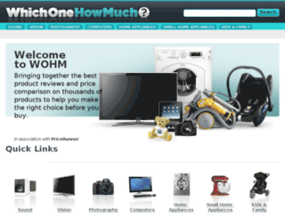 whichonehowmuch.co.uk screenshot