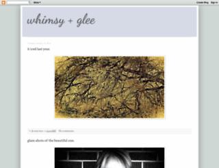 whimsyandglee.blogspot.com screenshot