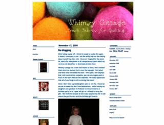 whimsycottage.typepad.com screenshot